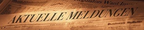 Eine Zeitungsheadline